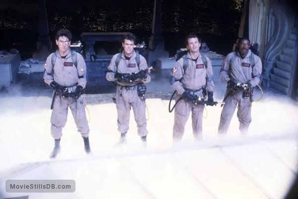Ghost Busters - Publicity still of Dan Aykroyd, Bill Murray, Harold Ramis & Ernie Hudson