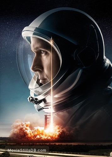 First Man - Promotional art with Ryan Gosling