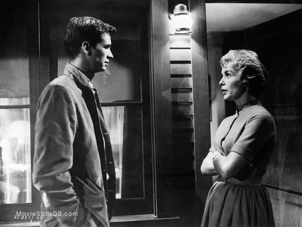 Psycho - Publicity still of Janet Leigh & Anthony Perkins