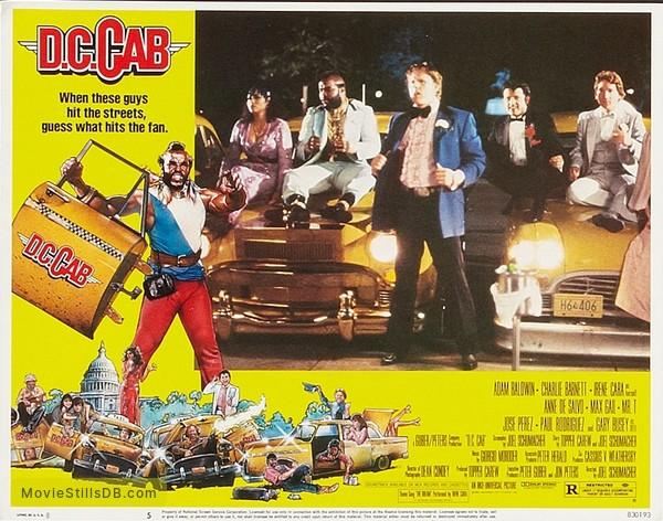 D.C. Cab - Lobby card with Bill Maher, Paul Rodríguez, Gary Busey & Mr. T
