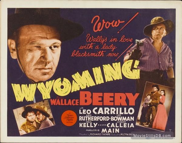 Wyoming - Lobby card