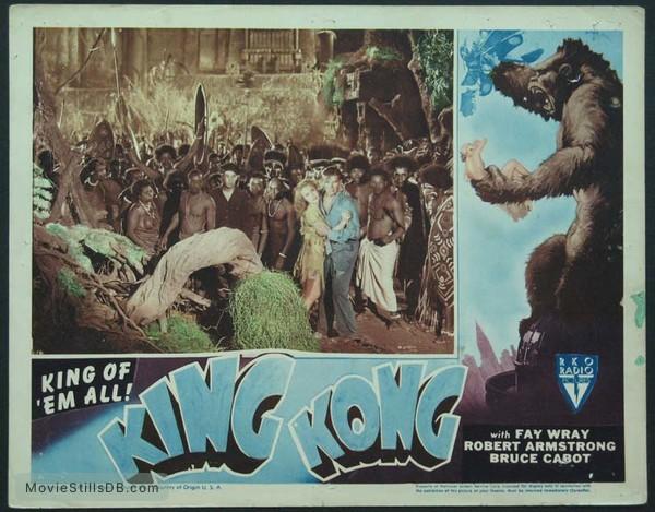 King Kong - Lobby card