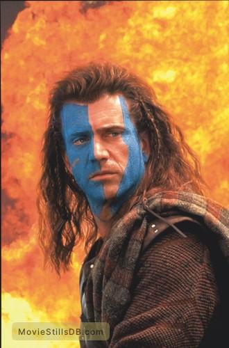 Braveheart - Publicity still of Mel Gibson