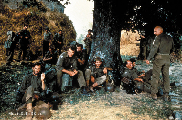 Kelly's Heroes - Publicity still of Clint Eastwood, Donald Sutherland, Telly Savalas & Don Rickles