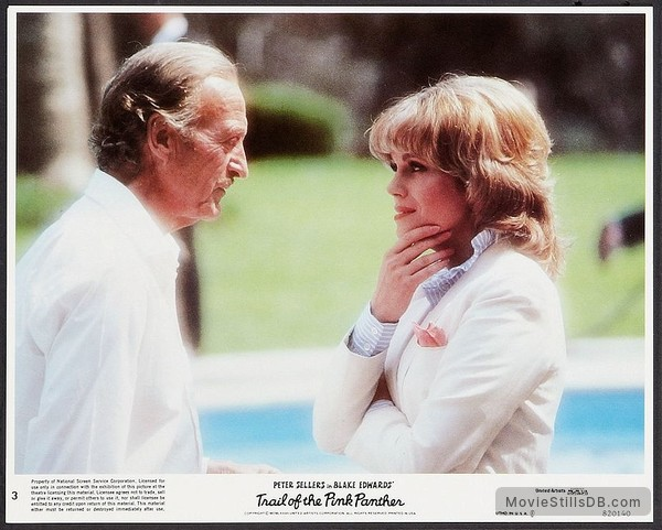eef65a4b62b8 Trail of the Pink Panther - Lobby card with David Niven & Joanna Lumley