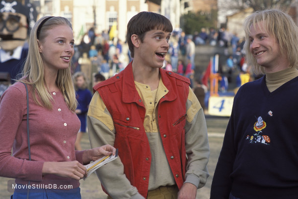 Dumb and Dumberer: When Harry Met Lloyd - Publicity still of Derek Richardson, Eric Christian Olsen & Rachel Nichols