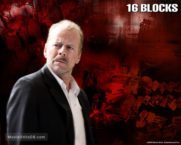 16 Blocks - Wallpaper with Bruce Willis