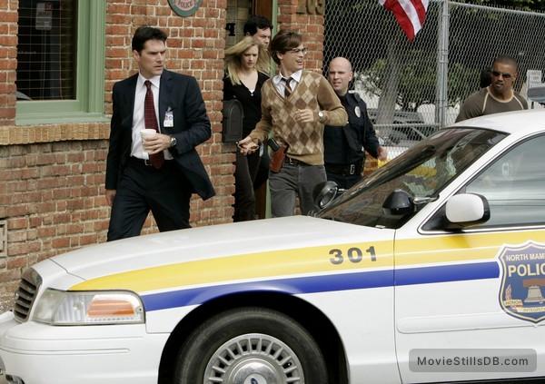 Criminal Minds - Publicity still of Thomas Gibson & Matthew Gray Gubler
