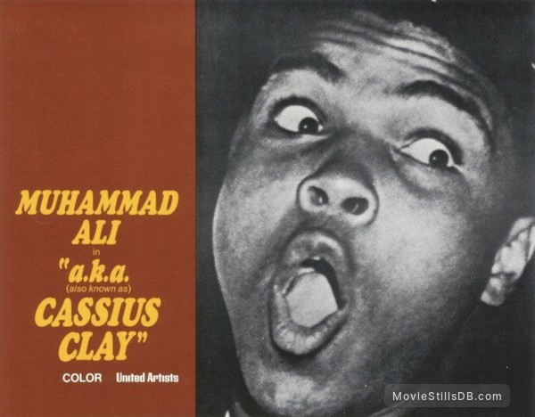 a.k.a. Cassius Clay - Lobby card with Muhammed Ali