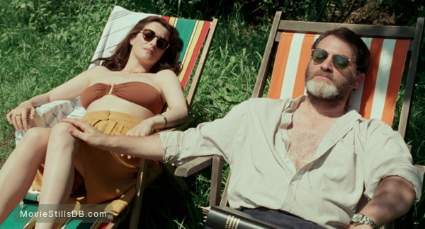 Call Me by Your Name - Publicity still of Michael Stuhlbarg & Amira Casar