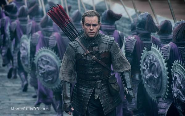 The Great Wall - Publicity still of Matt Damon