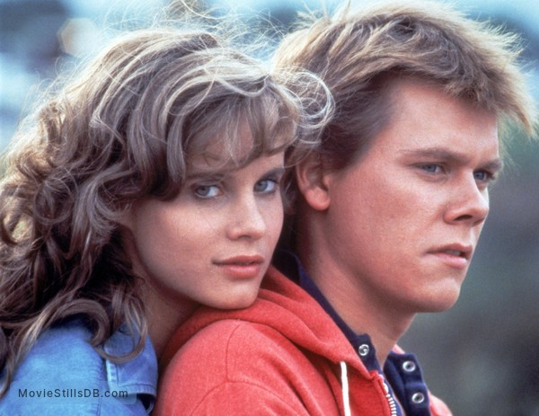 Footloose - Publicity still of Kevin Bacon & Lori Singer