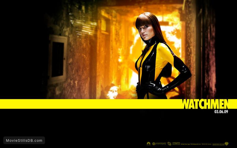 Watchmen Wallpaper With Malin Akerman