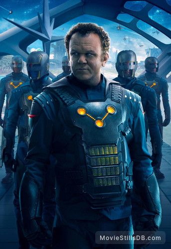 Guardians of the Galaxy - Promotional art with John C. Reilly