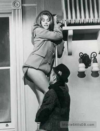 Barefoot in the Park - Publicity still of Jane Fonda & Charles Boyer