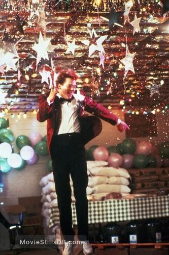 Footloose - Publicity still of Kevin Bacon