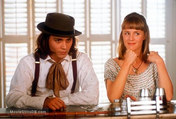 Benny And Joon - Publicity still of Johnny Depp & Mary Stuart Masterson
