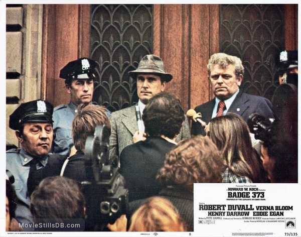 Agent 373 - Lobby card with Robert Duvall & Eddie Egan