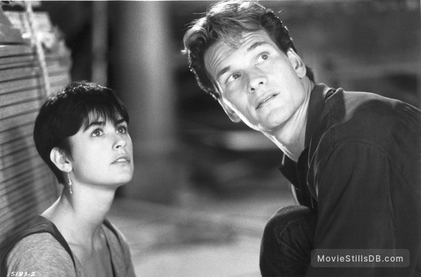 Ghost - Publicity still of Demi Moore & Patrick Swayze