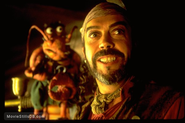 Muppet Treasure Island Publicity Still Of Tim Curry