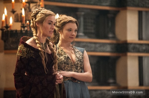 Game of Thrones - Publicity still of Lena Headey & Natalie Dormer