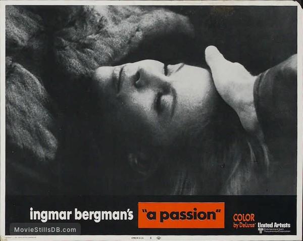 En passion - Lobby card