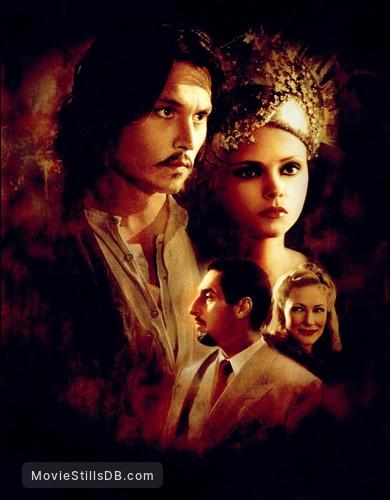 The Man Who Cried - Promotional art with Johnny Depp, Christina Ricci, Cate Blanchett & John Turturro