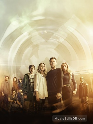 The Gifted - Promotional art with Emma Dumont, Sean Teale, Blair Redford, Jamie Chung, Amy Acker, Stephen Moyer, Natalie Alyn Lind & Percy Hynes White