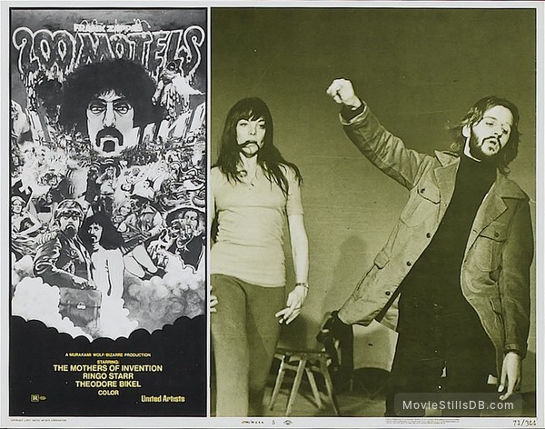 200 Motels - Lobby card with Ringo Starr
