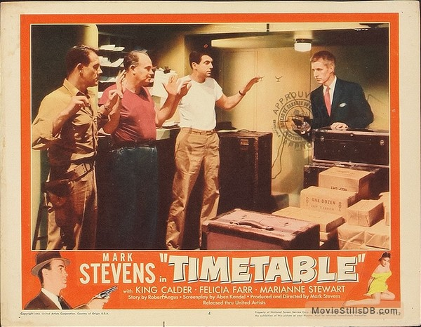 Time Table - Lobby card