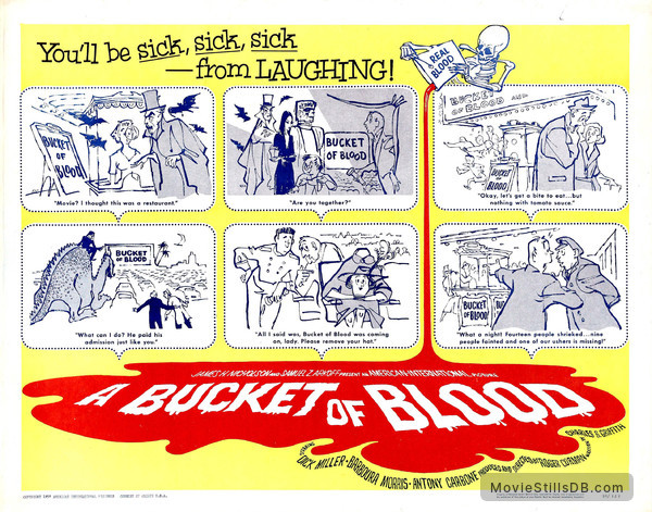 A Bucket of Blood - Lobby card