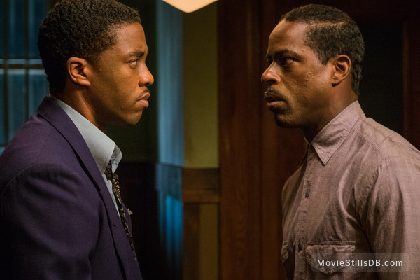 Marshall - Publicity still of Chadwick Boseman & Sterling K. Brown