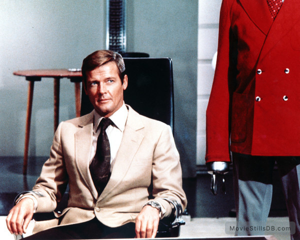 Live And Let Die - Publicity still of Roger Moore