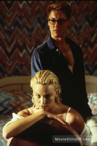 2 Days in the Valley - Publicity still of Charlize Theron & James Spader
