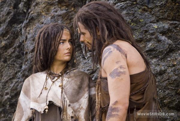 10,000 BC - Publicity still of Camilla Belle & Steven Strait