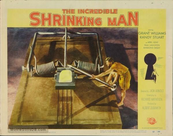 The Incredible Shrinking Man - Lobby card