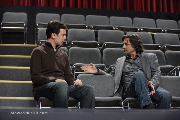 The Great Buck Howard - Publicity still of Colin Hanks & Griffin Dunne