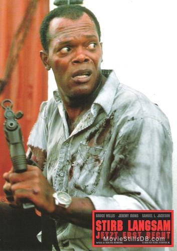 Die Hard With A Vengeance Lobby Card With Samuel L Jackson