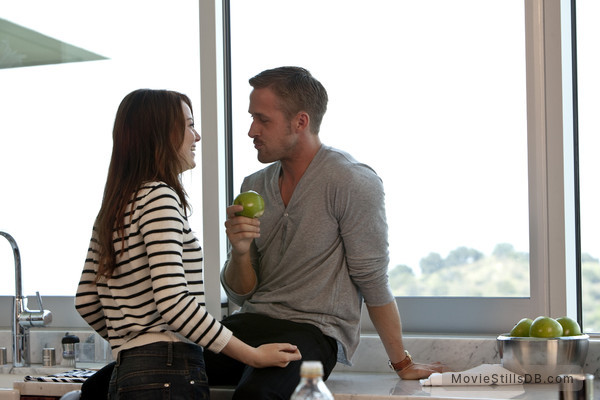 Crazy, Stupid, Love. - Publicity still of Emma Stone & Ryan Gosling