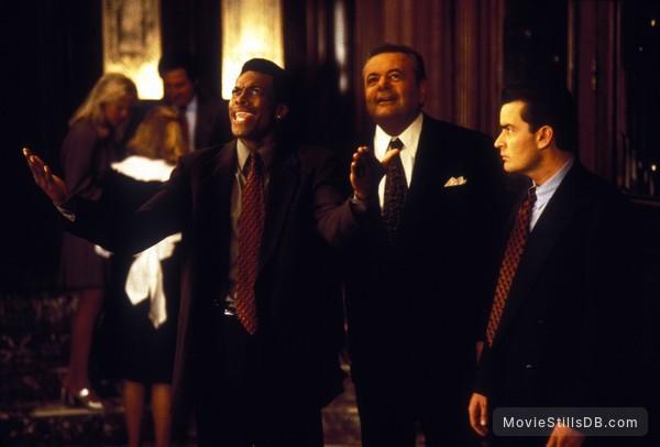 Money Talks - Publicity still of Chris Tucker, Paul Sorvino & Charlie Sheen