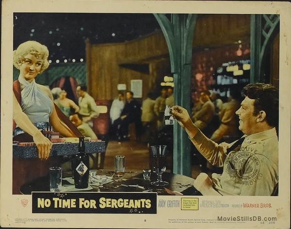 No Time for Sergeants - Lobby card