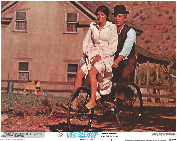 Butch Cassidy and the Sundance Kid - Lobby card with Paul Newman & Katharine Ross
