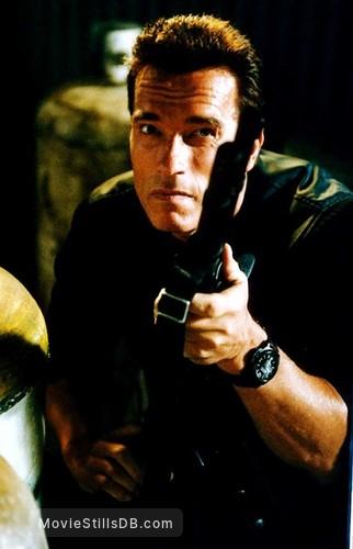 Eraser Publicity Still Of Arnold Schwarzenegger