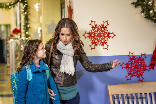 A Christmas Melody.A Christmas Melody Publicity Still Of Lacey Chabert Fina