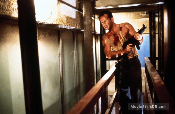 Die Hard - Publicity still of Bruce Willis