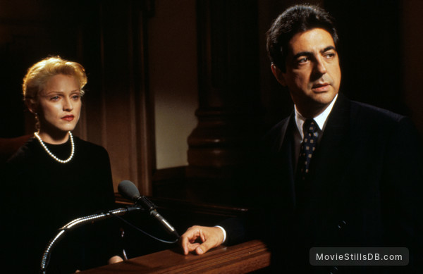 Body Of Evidence - Publicity still of Madonna & Joe Mantegna