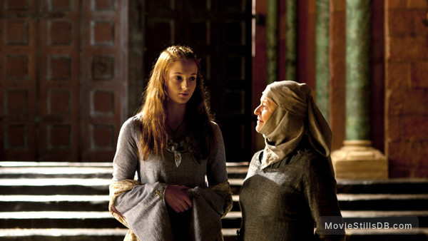 Game of Thrones - Publicity still of Sophie Turner & Susan Brown