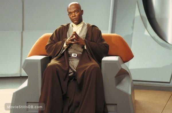 Star Wars: Episode I - The Phantom Menace - Publicity still of Samuel L. Jackson