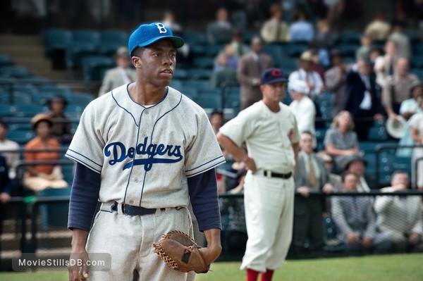 42 - Publicity still of Chadwick Boseman