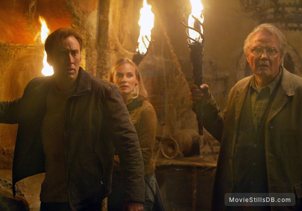 National Treasure - Publicity still of Nicolas Cage, Diane Kruger & Jon Voight